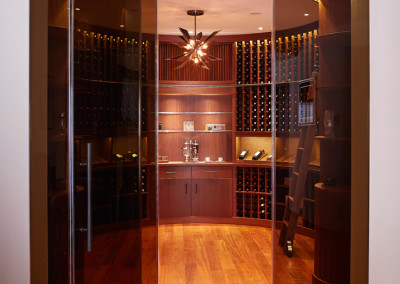 2014 Rosewood wine cellar