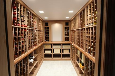 & 2000 bottle cellar   Custom Wine Cellars